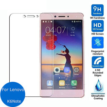 Buy Premium Ultra Clear Fashion Tempered Glass Screen Protector Film Lenovo K6 / K6 Power / K6 Note / P2 Protective Guard for $1.39 in AliExpress store