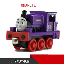 Thomas and Friends -One Piece Diecast Metal Train CHARLIE Megnetic Train Toy Tank Engine Toy For Children Kids Christmas Gifts(China)