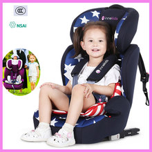 Child Car Safety Seat Portable Travel Baby Car Seat Chair ISOFIX Hard Interface Adjustable Lying Baby Safe Seat Booster Cushion(China)