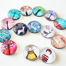 3pcs/set 25mm Cute Small Animal Cat Fridge Magnets Artistic Vivid Crystal Glass Refrigerator Magnetic Sticker Home Decoration