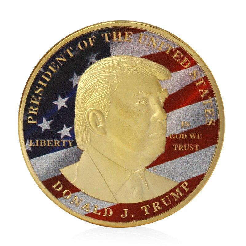 Make America Great Again Token Donald Trump 45th Commander in Chief Coin