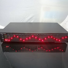 EQ-799 stereo 20-band graphic equcizer Dual 20-band EQ / Performance / KTV equcizer With LED dynamic screen display(China)