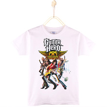 2017 Kids Clothes Children T-shirt Rock Band Guns N Roses Guitar Player 100% Cotton Boys T Shirt Girls Tops Baby Tshirt Camiseta