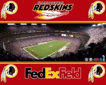 Washington Redskins logo with stars and stripes from USA Flag. 3FTx5FT 100D Polyester Flag Flag 90x150 cm 02