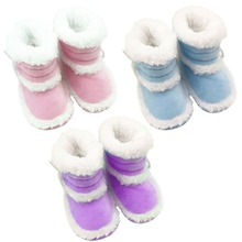 0-18 Months Toddler Baby Winter Warm Booties Girls Boy Soft Sole Boots Crib Infant Shoes New Prewalkers