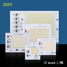 COB LED Bulbs Chip Lamp Smart IC 220V 90W 50W 30W 20W 10W For Outdoor FloodLight Warm White / White High Quality