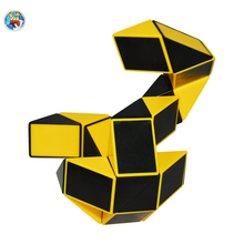 Original Ruler Magic Cube Puzzle Shengshou Magic Ruler Cube Snake Twist Puzzle Educational Toy for Children 6 Colors