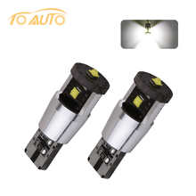 2pcs 15W NEW Canbus cree led chips 194/501 W5W led high power,168 canbus car light t10 canbus car light source