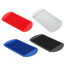 160 Grids Ice Cube Mold DIY Creative Small Ice Cube Mold Square Shape Food Grade Silicone Ice Tray Ice Cream Maker Tray