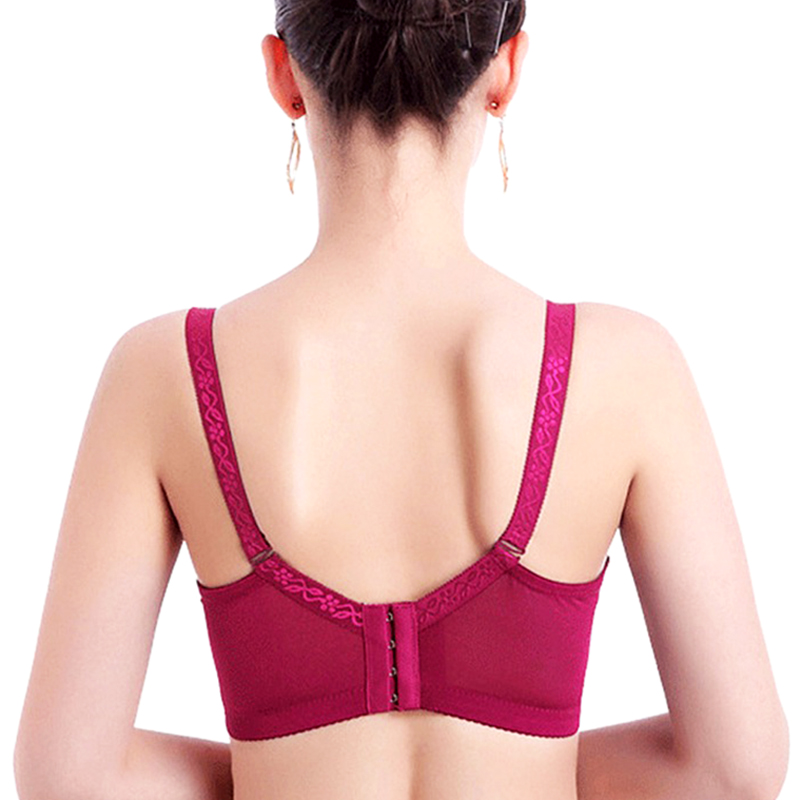 Lace Back Push Up Bra For Ladies