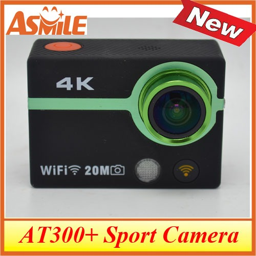 100% Original Ultra HD 4K Video 170 degrees Wide Angle Sports Camera 2-inch Screen 1080p 30fps SPORTS CAM action Camera AT300+<br><br>Aliexpress