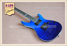 All Real Pictures China ESP/LTD Electric Guitar Ebony Fretboard 24 Frets Quilted Maple Top and Back