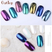 New Arrival  Nail Glitter Pearl Powder Dust Nail Art Manicure Pigment Decoration Beauty Girl  M18