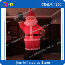 2m high inflatable Santa Claus model for Christmas decoration / shopping mall or house decoration inflatable santa claus cartoon(China)