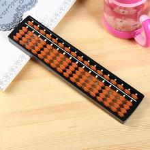 17 Rods Abacus Soroban Beads Column Kid School Learning Aid Tool Math Business Chinese Traditional abacus Educational toy Abacus