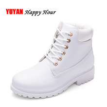 New 2017 Autumn Winter Shoes Women Snow Boots Warm Plush for Cold Winter Fashion Women's Boots Ladies Brand Ankle Boots ZH2346