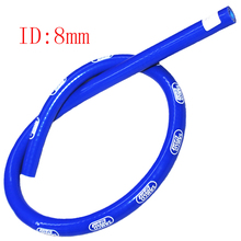 Universal Samco Blue ID:8mm 1M PRICE Reinforced Silicone Vacuum Hose Tubing Intake Silicone Pipe Turbo Intercooler silicone pipe