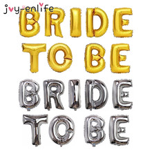 "JOY-ENLIFE 16 inch DIY Foil Letter Balloons ""BRIDE TO BE"" ""BRIDE"" Party Decor 2styles For Choose Birthday Wedding Party Supplies"