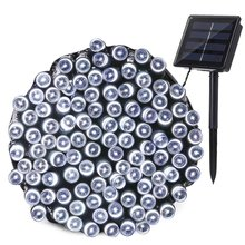 Ledertek Outdoor Lighting Solar Lamp 22M 200 LED 8 Modes Waterproof LED String Fairy Lights For Garden Decoration Solar Light(China)