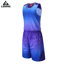 Buy Men Women 3D Basketball Jersey Sets Uniforms Breathable throwback basketball Sports jerseys Shirts Shorts quick dry pockets DIY for $14.45 in AliExpress store