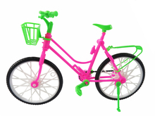 Detachable Handmade Doll Plastic Bike Outdoor Accessories For Barbie Doll Kid's Pretend Play House Toys Baby Best Gift
