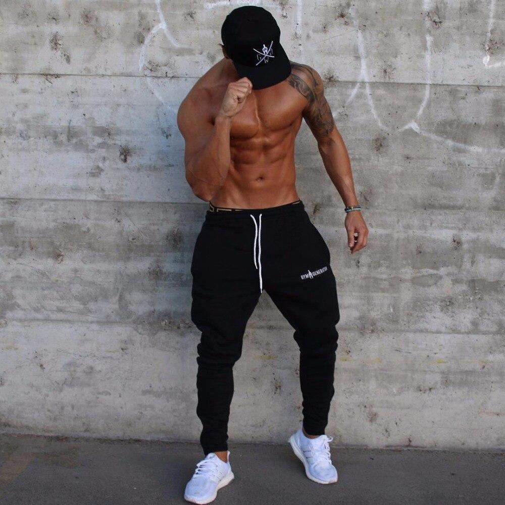Brand Gyms Men Joggers Casual Men Sweatpants Joggers Pantalon Homme Trousers Sporting Clothing Bodybuilding Pants 17