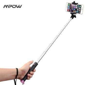 MBT8 Nouvelle Version Mpow iSnap X U-Forme Pro Trépied Manfrotto Selfie Bâton Bluetooth Support De La Télécommande pour iPhone Android Xiaomi