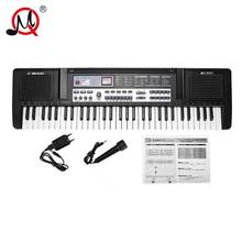 61 Keys Kids Musical Instrument Piano Electronic Key board Toy Digital Piano Electric Key Board Music Toys For Children