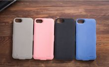 2017 Microfiber suede Extended Battery case for iphone 7 power case with 3000mAh 4.7 inch also suitable for iphone 6 6S