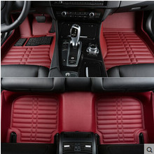 Best quality & Free shipping! Custom special floor mats for Lexus ES 350 2011-2005 Easy to clean non-slip carpets for ES350 2009(China)