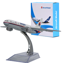 WR Malaysia Airlines Airplane Model Children's Gifts Mini Aircraft Model Ornaments Plane Model For Home Decoration(China)