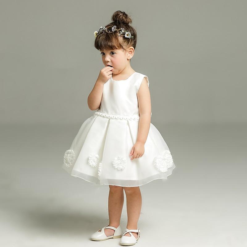 Brand Baby Girls Christmas Dress Gowns Newborn Party Dresses For Girls Princess Infant 1 Year Birthday Dress vestido infantil<br>