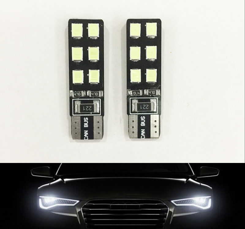 2x Car led Big Promotion Canbus Error Free T10 194 501 W5W 12 SMD LED High Power Car Auto Wedge Lights Parking Bulb Lamp DC12V<br><br>Aliexpress