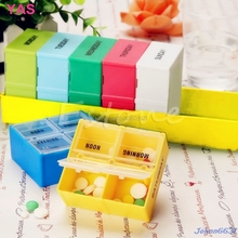 7 Days Weekly Storage Colorful Container Organizer Case Pill Medicine Box Holder -Y207 Drop Shipping