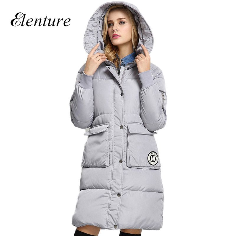 2017 Fashion Women Jackets And Coat Casual Cotton Hooded Winter Jacket Women Down Parkas Female OutwearОдежда и ак�е��уары<br><br><br>Aliexpress