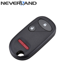 Replacement Keyless 3 Buttons Entry Remote Key Fob for Honda Pilot Civic Element 2003-2007 2+1 Button Shell Case Free Shipping