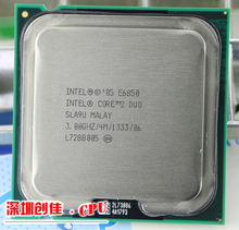 E6850 Desktop Computer Processor Intel Cpu dual core 2 Duo Cpu 3.0GHz 4MB/1333MHz LGA 775 scrattered pieces used(China)