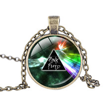 Hot Music The Band Pink Floyd Logo necklace Zinc Alloy pendant Rock Style Fans Gift Collares Mujer Personalized Bridesmaid Gifts