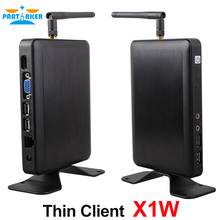 All winner A20 Dual-core 1.2 Ghz CPU Thin Client Workstation Mini PC with WIFI support Linux Windows(China)