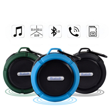 Bluetooth Speaker Outdoor Waterproof Wireless Speakers Portable Led Radio Subwoofer Ride Bicycle Speaker Handfree With TF Card