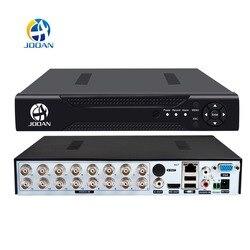 Jooan DVR 16CH TVI аналоговая AHD 16CH 5in1 AHD IP камеры HD P2P облако H.264 VGA HDMI AHD TVI CVI dvr-рекордер системы видеонаблюдения Видео Регистраторы