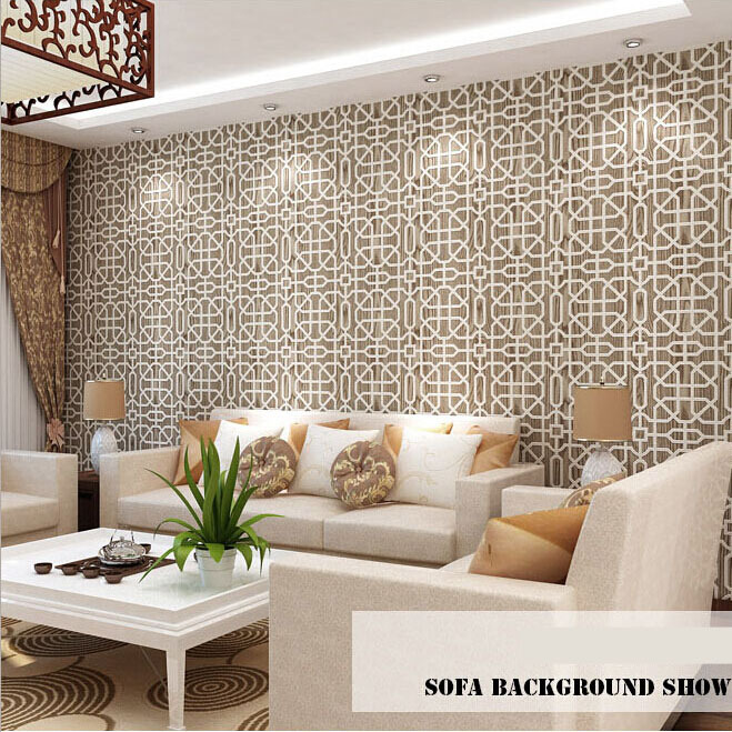 Wallpaper non-woven wallpaper chinese style 3d wallpaper tv background wall wallpaper<br><br>Aliexpress