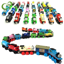 Anime Thomas and His Friends Wooden toys Trains Model Great Kids Christmas Toys Gifts for Children toys for children