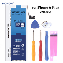Buy NOHON Replacement Battery Apple iPhone 6 Plus 6P 6Plus Capacity 3.82V 2915mAh Li-polymer Built-in Lithium Battery Tools for $21.10 in AliExpress store