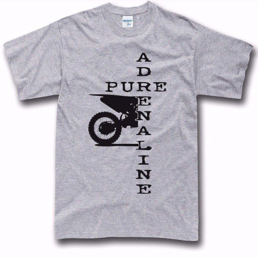 Design t shirt motocross - 2017 Punk Tops Motocross Dirt Biker Moto Two Stroke Fans T Shirt Designer New Men Cotton T Shirts Hot Sale T Shirt