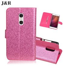 Luxury Glitter PU Diamond Leather case For Xiaomi Redmi Note 4 hongmi note4 Phone Cover Flip Wallet Stand Card holder 5 colors