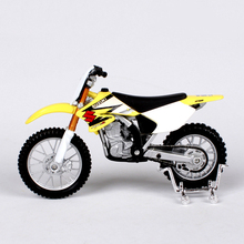 1/18 Original Maisto Suzuki RM Z250 Yellow Motorcycle Models Diecast Motorbike Gifts Collections