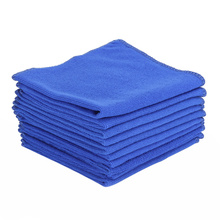 10Pcs/lot Cleaning Towel 2016 New Design Soft Water Absorbent Fiber Home Kitchen Car Bicycle Wipe Wash Cloth Cleaning Towels