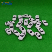 200pcs model car kits plastic resin scale model car 1:200