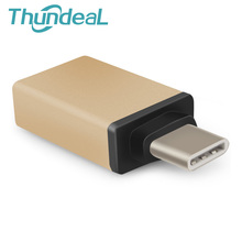 ThundeaL USB 3.1 Type C Male to USB 3.0 USB Type C Adapter Converter Charging Data Sync OTG For ZUK Z1 Phone Macbook Nexus 6P 5X